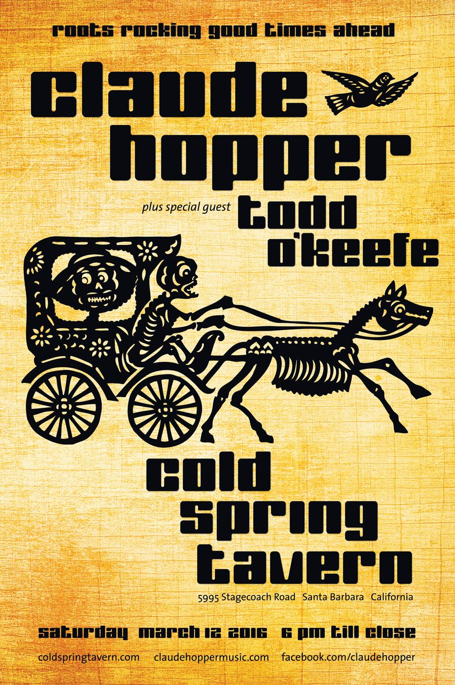 Cold Spring Tavern – March 12, 2016