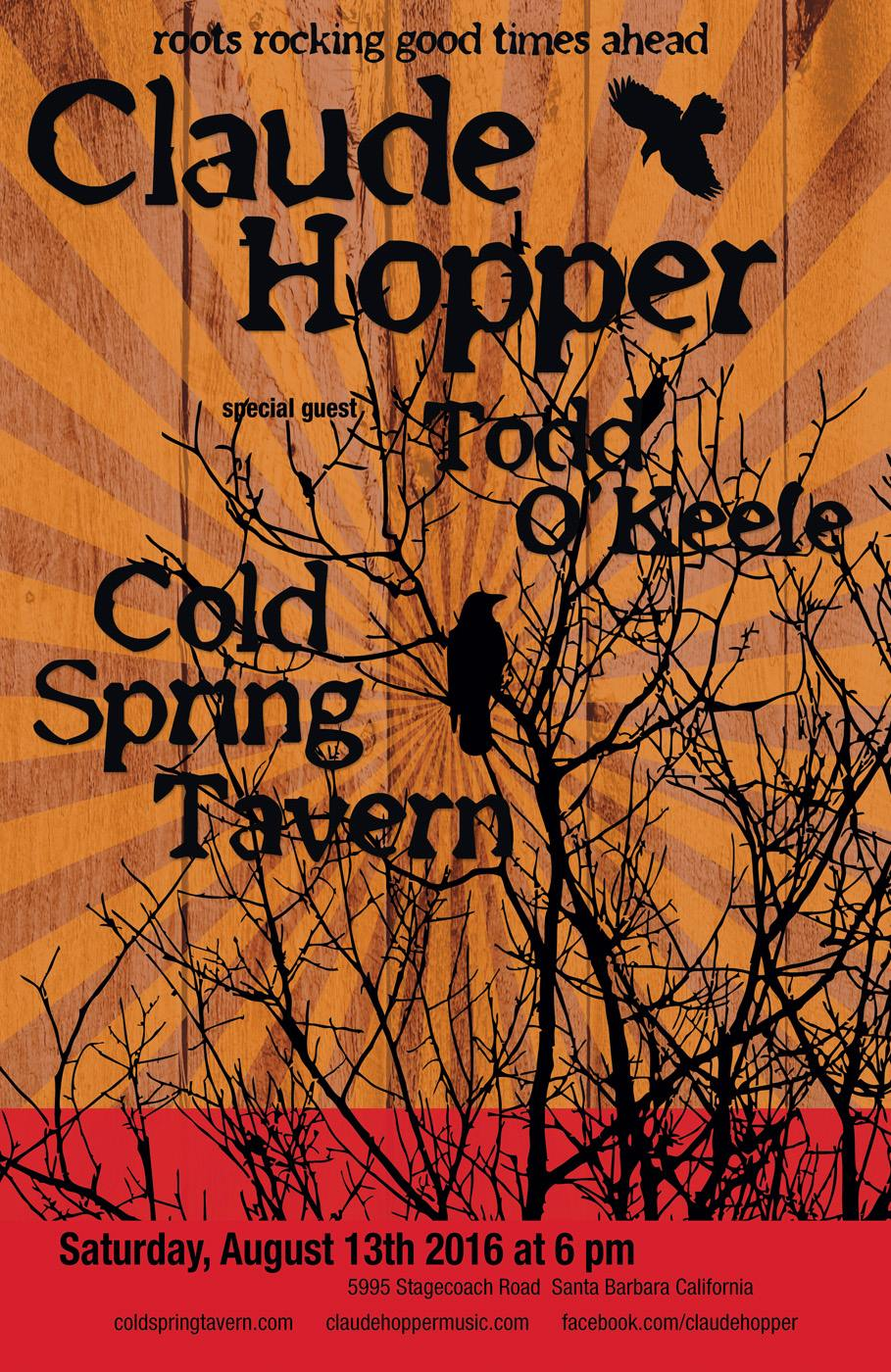 Cold Spring Tavern – August 13, 2016